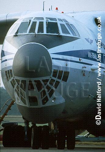 Ilyushin IL-76MD / IL.76MD / IL76MD Midas, Russian Air Force / Aeroflot, on static, Royal International Air Tattoo (RIAT), RAF Fairford, UK, date ?