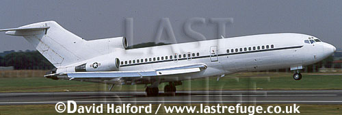 Boeing 727/ B.727 / B727 / C-22B / C.22B / C22B, USAF ANG, taking off, Royal International Air Tattoo (RIAT), RAF Fairford, UK, date ?