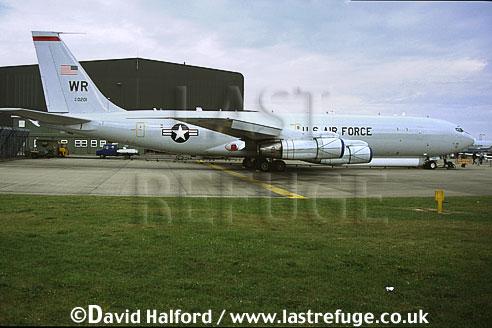 Boeing E-8C / E.8C / E8C J-Stars, (97-0201/WR), 12th Air Combat Command (ACC)S/93rd ACW, USAF, on static, RAF Waddington, UK, June 2002