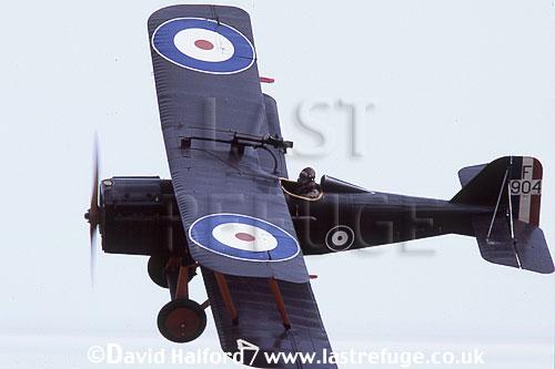 Royal Aircraft Factory S.E.5A / SE-5A / SE5A, (F904), flying, Shuttleworth Collection, Old Warden, UK / U.K., UK, September 2003