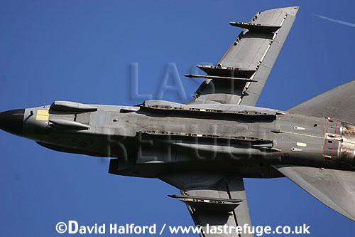 Panavia Tornado GR.4 (ZA469-TM) of 15 (R) Squadron RAF flying, Imperial War Museum (IWM), Duxford, U.K. / UK - June 2005