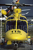 Agusta A.109 Power, on static - Farnborough, UK, July 2000