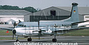 Breguet Atlantic, (61+16), MFG-3, Marineflieger / German Navy, landing, Royal International Air Tattoo (RIAT), RAF Fairford, UK, date ?