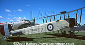 Avro 504K, (D8781), Aircraft Restoration Co., parked, IWM Duxford, UK, date ?