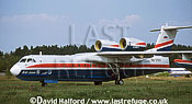 Beriev Be-200 / Be.200 / Be200 , (RA-21511), taxying at MAKS, Zhukovsky, Russia, August 2001