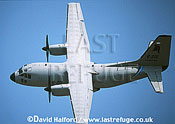 Alenia C-27J / C.27J / C27J Spartan, demonstrator aircraft, flying, Paris Air Show, Le Bourget, France, June 2001