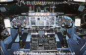 Lockheed C-5B / C.5B / C5B Galaxy, pilot's position in cockpit, Air Mobility Command (AMC), USAF, on static, Naval Air Station (NAS) Patuxent River, Maryland (MD), USA, May 2001