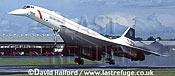 Aerospatiale/British Aircraft Corporation (BAC) or British Aircraft Corporation (BAC)/Aerospatiale Concorde SST, Aerospatiale / British Aircraft Corporation (BAC) or British Aircraft Corporation (BAC) / Aerospatiale Concorde SST, British Airways, landing, Farnborough, UK, September 1994