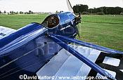 De Havilland D.H.53 / DH-53 / DN53 Humming Bird, (G-EBHX), wing struts, parked, Shuttleworth Collection, Air Pageant, Old Warden, UK / U.K., UK, September 2003