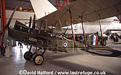 Royal Aircraft Factory R.E.8 / RE-8 / RE8, (F3556), parked, IWM Duxford, UK, July 2001