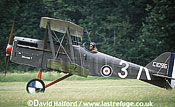 Royal Aircraft Factory S.E.5A / SE-5A / SE5A, (C1096/Maybe?), Ailes Anciennes, landing, La Ferte Alais, France, June 2003