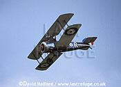 Sopwith F.1 / F-1 / F1 Camel, (R), Blue Max Collection, flying, Farnborough, UK,