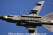 Panavia Tornado GR.4 (ZA469-TM) of 15 (R) Squadron RAF flying, Imperial War Museum (IWM), Duxford, U.K. / UK - June 2005