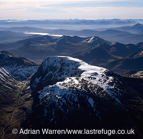 Ben Nevis, the western end of the Grampian Mountains, near Fort William, Highlands, Scotland