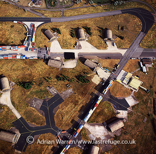 RAF Alconbury airfield, near Huntingdon, Cambridgeshire, England