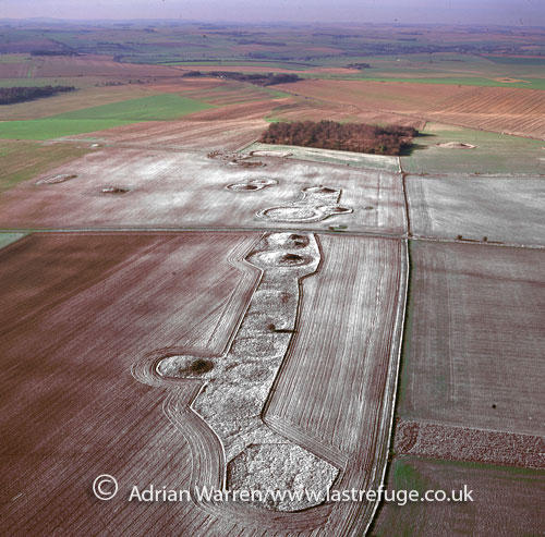 Normanton Down Barrows, near Stonehenge, Wiltshire, England