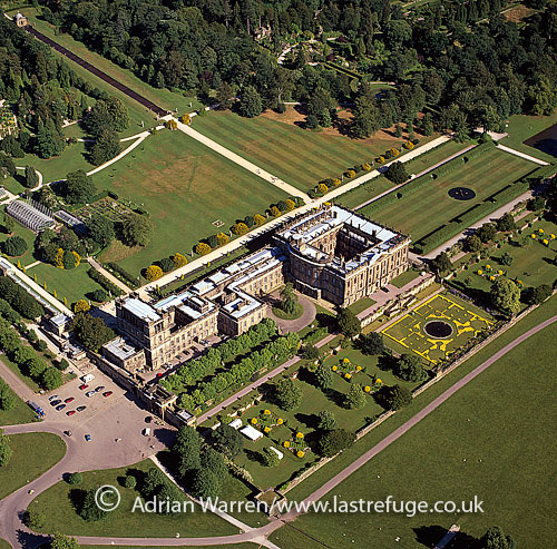 Last Refuge aerial image search: Chatsworth House, Chatsworth ...