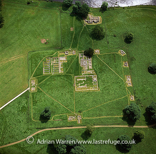 Chesters Roman Fort (Hadrian's Wall) : Northumberland, England