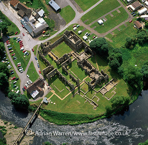 Finchale Priory, 13th century Benedictine priory, by the River Wear, near Durham, England