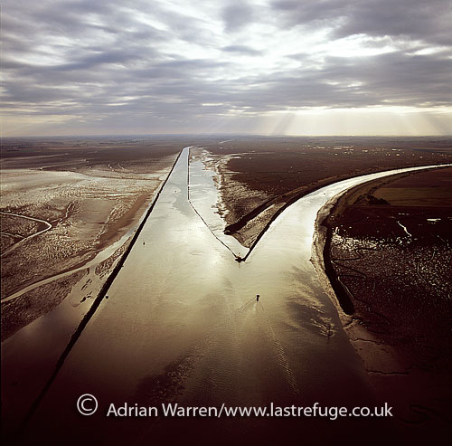 Black Buoy Sand, The Scalp, The Haven, Frampton Marsh, The Wash, Lincolnshire, England