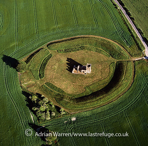 Knowlton Henge (Circle) and Knowlton Church, Dorset, England