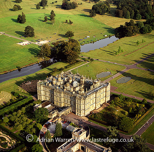 Longleat, an English country house, Horningsham, near Warminster in Wiltshire and Frome in Somerset, England