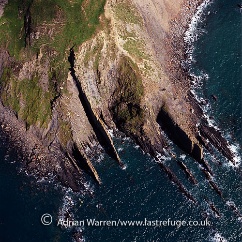 Lower Sharpnose Point, north of Bude, Cornwall, England