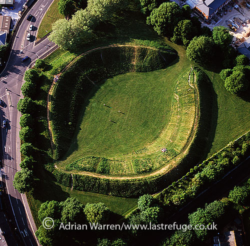 Maumbury Rings, a Neolithic henge and Roman amphitheatre, south of Dorchester, Dorset, England