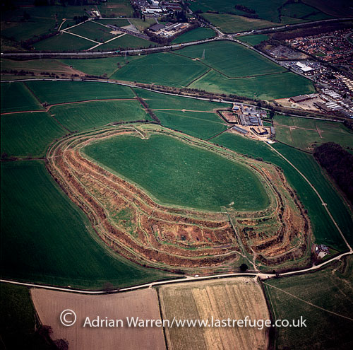 Oswestry Hill fort, Oswestry, Shropshire, England