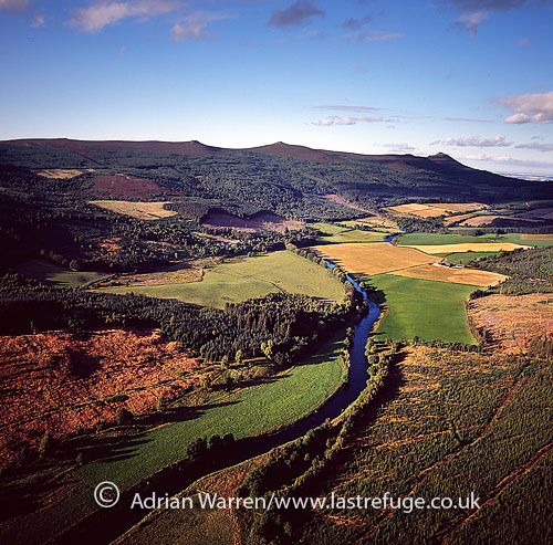 Bennachie, Aberdeenshire, Scotland: possible site of Mons Graupius Battle in AD 83
