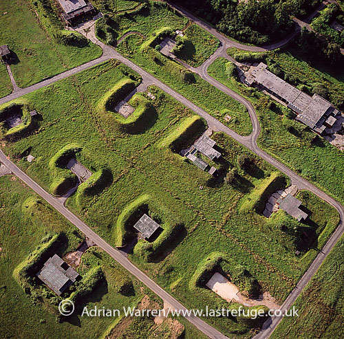 Royal Navy first World War Explosives Factory, Monmouthshire, South Wales