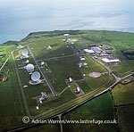 GCHQ CSO (The GCHQ Composite Signals Organisation Station), a satellite ground station, Morwenstow, Cornwall, England