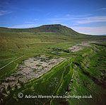Ingleborough, second highest hill in the Yorkshire Dales, North Yorkshire, it is one of the Three Peaks, England