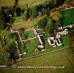 Jervaulx Abbey, aCistercian abbey, near Ripon,North Yorkshire, England