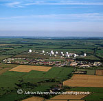RAF Menwith Hill, The world's largest monitoring communications station run by the US National Security Agency, near Harrogate, Yokshire, England