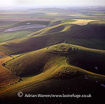 Rybury Camp, hill fort and Neolithic causewayed enclosure, Wiltshire, England