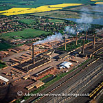 Brickworks at Whittlesea, near Peterborough, Cambridgeshire, England