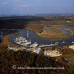 Bucklers Hard, on the banks of the Beaulieu river, Hampshire, England
