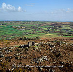 Carn Brea and Carn Brea Castle, Neolithic to Iron age settlements Redruth, Cornwall, England