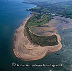 Dawlish Warren, a small seaside resort near Dawlish, south coast of Devon, on the mouth of the Exe Estuary, opposite Exmouth, England