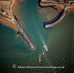 Eastbourne Harbour, South Downs, East Sussex, England