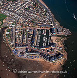 Exmouth and Exmouth Harbour, Devon, England, at the east side of the mouth of the River Exe, England