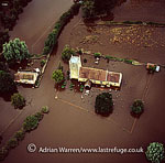 Floods in 2007, Tirley, Gloucestershire, England