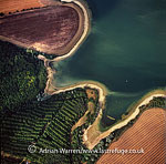Grafham Water, a reservoir between the villages of Grafham and Perry, Cambridgeshire, England