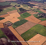Medieval open fields at Haxey, Lincolnshire, England