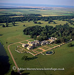 Holkham Hall, an eighteenth century country house, Holkham, Norfolk, England