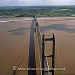 The Humber Bridge, suspension bridge near Kingston upon Hull. It spans the Humber (the estuary formed by the rivers Trent and Ouse) between Barton-upon-Humber on the south bank and Hessle on the north bank, connecting the East Riding of Yorkshire and North Lincolnshire, England