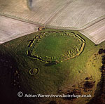 Ladle Hill Fort, unfinished hill fort, Hampshire, England
