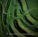 Maiden Castle, an iron age hill fort, Winterborne Monkton, near Dorchester, Dorset, England