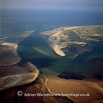 Mud Flats at Blakeney Point, Norfolk, England